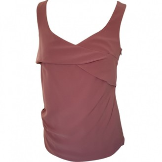 Armani Jeans Pink Silk Top for Women