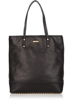 Heavy Metal Studded Leather Tote