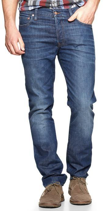 Gap 1969 Authentic Skinny Fit Jeans (Rincon Wash)