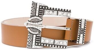 B-Low the Belt Embellished Leather Belt