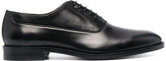 Canali Lace-Up Leather Shoes