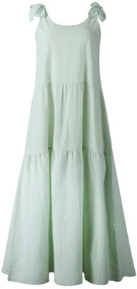 Goodnight Macaroon 'Yasmeen' Tie Strap Dolly Maxi Dress (3 Colors)
