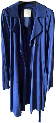Pinko Blue Trench Coat for Women