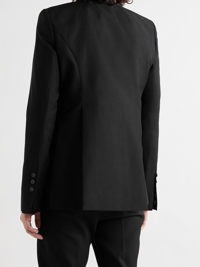 Thumbnail for your product : Rick Owens Slim-Fit Virgin Wool And Mohair-Blend Blazer