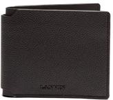 Lanvin Grained leather bi-fold wallet