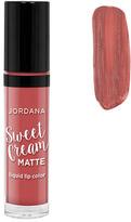 Jordana Sweet Cream Matte Liquid Lip Color - Tiramisu