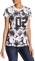 True Religion Watercolor Floral Tee