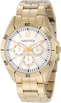Nautica Men's Nac 101 N14637G Stainless-Steel Quartz Watch