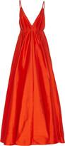 Paris Georgia Bella V-Neck Silk Maxi Dress