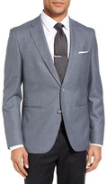 HUGO BOSS Jedson Trim Fit Check Wool Sport Coat