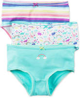Carter's 3-Pk. Rainbow Panties, Little & Big Girls