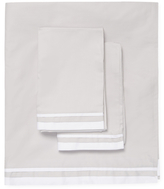 Saks Fifth Avenue Luxe Double Band Sateen Sheet Set