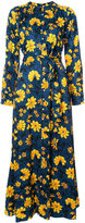Altuzarra floral print button down dress