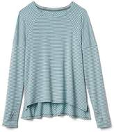 Athleta Girl Stripe Swing Top