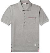 Thom Browne - Slim-fit Cotton-piqué Polo Shirt