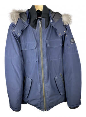 Moose Knuckles Navy Fox Coats