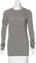 Raey Striped Long Sleeve Top