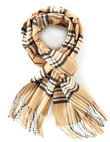Fraas Fringed Plaid Muffler