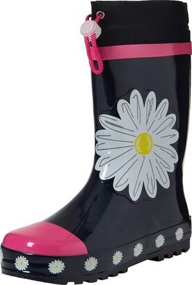 Playshoes Boy's Girl's Rain Boot Wellies Daisies Wellington Rubber