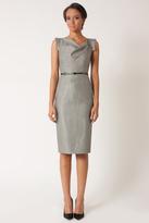 Black Halo Menswear Stripe Jackie O Dress