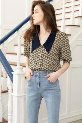 J.ING Wellesley Vintage Collar Blouse
