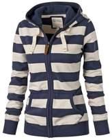 Suvotimo Women Plus Size Pullover Fleece Zip Up Hoodie Sweater Sweatshirts Tops XXL