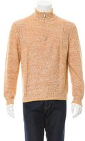 Malo Cashmere-Blend Half-Zip Sweater