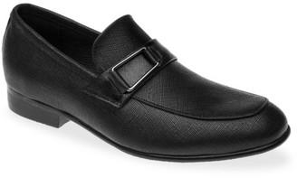 Venettini Boy's Ace Side Buckle Leather Dress Shoes