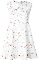 Carven sleeveless floral print dress