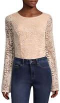 Miss Chievous Long Sleeve Bodysuit-Juniors