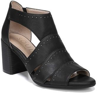 Christina Embellished Block Heel Sandal - Wide Width Available