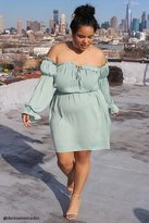 Forever 21 Plus Size Satin Ruffle Dress