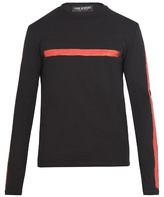 Neil Barrett Stroke-print Cotton-jersey T-shirt