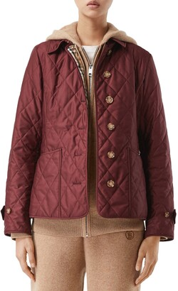Burberry Fernleigh Thermoregulated Diamond Quilted Jacket