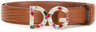 Dolce & Gabbana bejeweled buckle belt