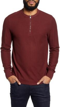 BOSS Textor Regular Fit Long Sleeve Henley