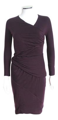 Carven Purple Viscose Dresses