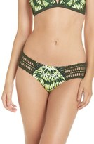 Robin Piccone Women's Crochet Sides Bikini Bottoms