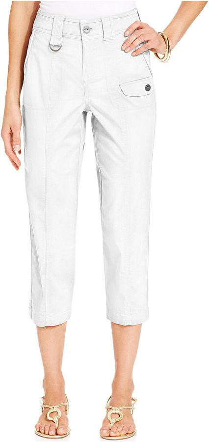Style&Co. Tummy-Control Capri Pants