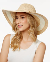 Vince Camuto Nautical Stripe Floppy Sun Hat