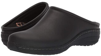 Aetrex Robin (Black Oiled) Women's Shoes