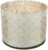 Nkuku Etched Glass Tealight Holder - Large