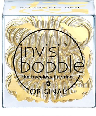 invisibobble The Traceless Hair Ring 3 Pack Original You'Re Golden