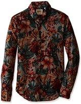 Naked & Famous Denim Men's Regular Shirt in Big Tropical