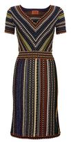 Missoni Metallic Stripe Dress