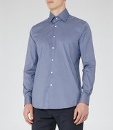 REISS Joshua - Mens Fitted Shirt in Blue