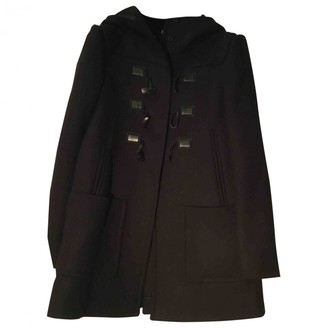 Miu Miu Purple Wool Coat for Women