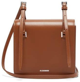 Jil Sander Mini Leather Cross-body Bag - Womens - Tan