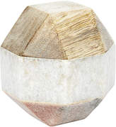 Monsoon Marble Diamond Paperweight