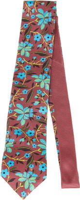 Prada Floral Silk Tie
